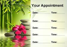 Beauty Spa Massage Treatment Salon Personalised Appointment Cards