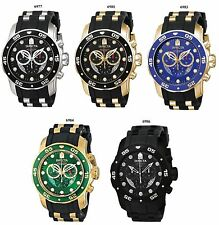 Invicta Men's Pro Diver Collection Chronograph Watch 6977,6981 6983,6984,6986