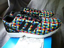 "adidas ZX FLUX ""multicolor weave"" SIZE 8, 9, 9.5 Limited Edition (S82749) Europe"