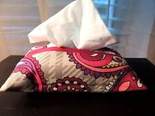 Any VERA BRADLEY Pattern TISSUE COVER Great Teacher's Gift NEW Match Your Purse