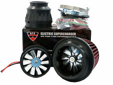 5PSI ELECTRIC SUPERCHARGER TURBO ADD HORSEPOWER + TORQUE INTAKE FOR SCION