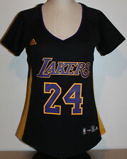 Los Angeles Lakers Kobe Bryant #24 Hollywood Nights Adidas Women's Jersey- Black