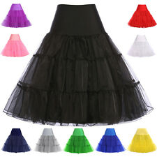 Wedding Crinoline Underskirt Swing Vintage Petticoat Fancy Net Skirt Rockabilly