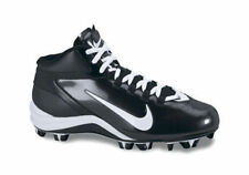 Nike Alpha Speed Shark Men's Football Cleats Black/White. Brand New. Black White