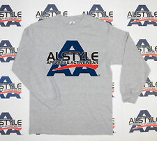 New Alstyle Apparel 1304 AAA Long-Sleeve Plain Blank Basic T-Shirts