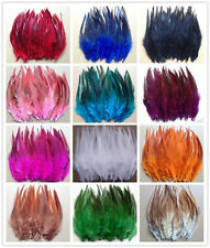 Wholesale 50/100pcs beautiful rooster tail feathers 12-15cm / 5-6inches 13colors
