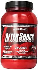 Myogenix AFTER SHOCK Tactical Post-Workout Catalyst 2.64 lbs Free Shipping