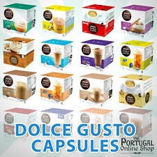 NESCAFE DOLCE GUSTO CAPSULES POD 21 FLAVOURS COFFEE TEA NESQUIK 2 48 SOLD LOOSE