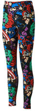 Marvel Comics Freeze Allover Character Juniors Leggings - New