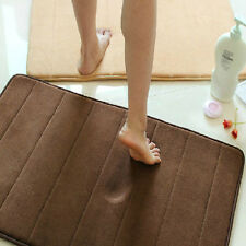 NEW Fashion 40X60cm Mirco Suede Soft Bathroom Carpet Kitchen Mat 4 Colors