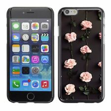 Hard Phone Case Cover Skin For Apple iPhone pink roses wallpaper flowers blossom