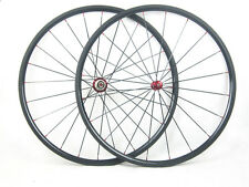 23mm width only front or rear carbon bike 24mm clincher wheel straight pull hub