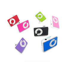 Mini 5 Colors Support Up To 8GB Clip USB MP3 Player Micro SD TF Memory Card T4