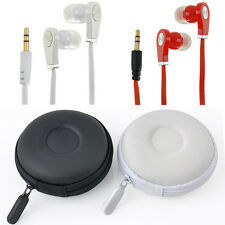 NEW In-Ear 3.5mm Earphone Earbud Headphone with box Case for MP3 MP4 Cellphone