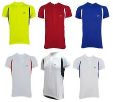 More Mile Mens Cycling Jersey Bike Cycle Top T-Shirt Running Size XS - XXL