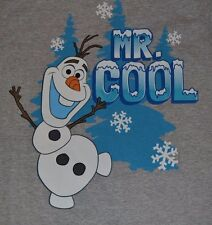 Disney Frozen Olaf Adult T-Shirt Mr. Cool Tee Officially Licensed Disney