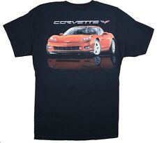 Chevrolet C6 Corvette T-shirt - Black 100% Cotton Pre-shrunk