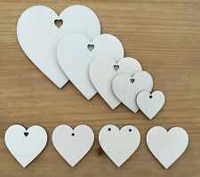 Wooden Shapes, heart shape,Birch Wood, wedding craft,love hearts embellishments.