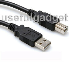 10 FT 10 Feet USB Printer Cable (Type A to Type B) for Canon BJC Series Printer
