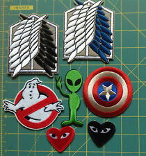 Embroidered Patch Attack on Titan Scouting Legion Logo COMME DES GARCONS