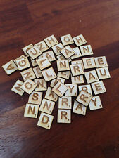 3mm Plywood Scrabble Letters & Numbers Tiles Crafting Shapes pick & mix 3 - 100