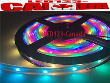 WS2812B 5050 SMART RGB LED STRIP 5V INDIVIDUALLY ADDRESSABLE 16.4f/5M WATERPROOF