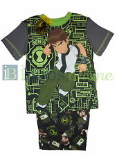 BNWT Boys Pjs Ben 10 Glow in the Dark Licensed Summer Pyjamas - Size 3