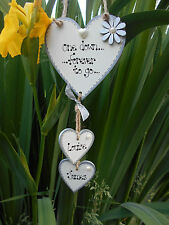 ��Personalised 1st Wedding Anniversary, Hanging Heart gift, plaque,sign��