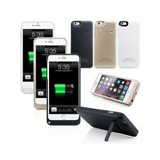 iPhone Charger Case 5000mAh External Backup Battery Bank Cover for 6 Plus