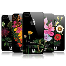 HEAD CASE DESIGNS CLEAR TRANSPARENT BACK CASE COVER FOR APPLE iPHONE RANGE