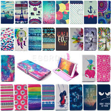 Newest Image Flip Leather Wallet Card Stand Case Cover For Samsung Mobile Phone