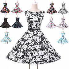 Festival Holiday	Vintage Style Swing 50s Housewife pinup Rockabilly Jive Dress