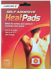 2 x SELF ADHESIVE HEAT PADS PATCHES Pain Relief Aches & Pains Muscles & Joints