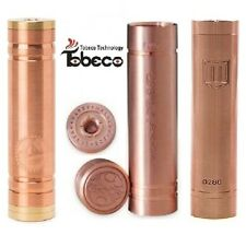 Copper Mechanical MOD * PENNY - VANILLA - OVERDOSE * 18650 RDA RBA * US Seller!