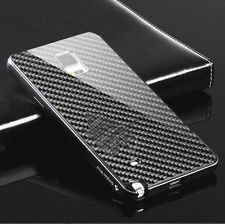 Deluxe Aluminum Frame Carbon Fiber Case Cover For Samsung Galaxy Note 4/5 S6Edge