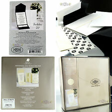New 25 x Wedding Invitation DIY Kit Pockets RSVP Cards Envelopes Invite