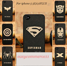 Cool Ultra-thin Cartoon Super Hero Face Phone Case for Apple iphone 5 5S 6 6PLUS