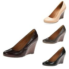 Clarks Women's Purity Crystal Wedge Pump - New With Box