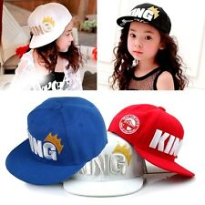 Fashion Boy Girl Kids Infant Hat Adjustable Baseball Snapback Cap Hip-hop Sport