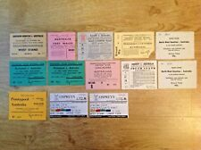 Australia Tour Used Rugby Tickets 1966 - 2006