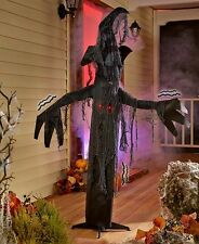 5-FT. Light Animated Spooky Haunted Tree Sound-Activated Halloween Outdoor Decor