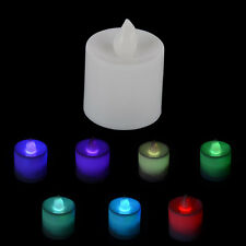 Tea Light Wedding Party Flameless Candle Tealight Tea Flickering Flicker LED