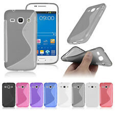 S Line Wave Gel Rubber TPU Silicone Case Skin Cover For Samsung Various Phones