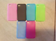 Soft Slim Transparent TPU Silicone Gel Case Cover For Apple iPhone 4S 4G 4