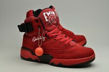 Ewing Athletics 33 Hi Red Suede Patrick Ewing Limited Sneakers