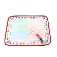 Children Magic Pen Doodle Toy Water Drawing Painting Writing Mat Board Best Gift