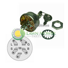 Starter/Ignition Switch-Replaces AYP, Craftsman, Husqvarna, MTD, Murray & More