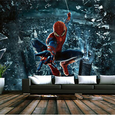 NEW MODERN LUXURY 3 D WALLPAPER MURAL SPIDER MAN MOVIE HERO HOME DECORATION