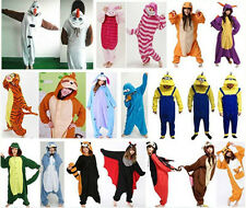 Men Ladies Animal Onesie Costume Kigurumi Onsie Pajamas Sleepwear Adult Pyjamas
