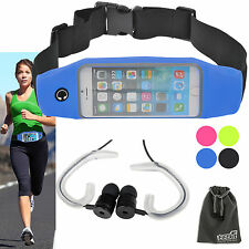 EEEKit for Phone,Running Jogging Waist Fitness Sport Belt+Earphones W/Hook